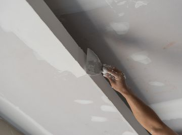 Ceiling painting in Humble by Palmer Pro