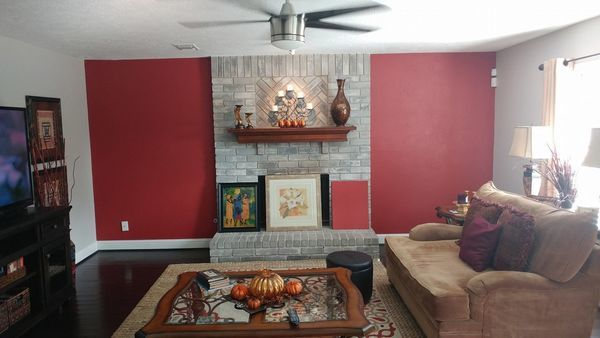 Accent Wall Painted in Magnolia, TX (1)